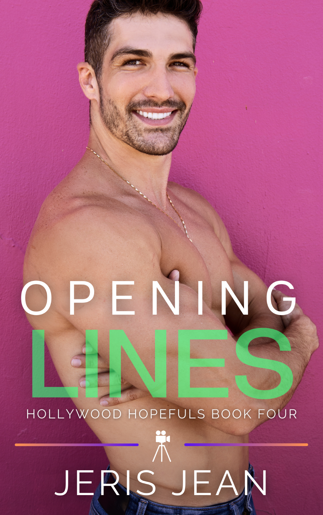Opening Lines Book COver by Jeris Jean