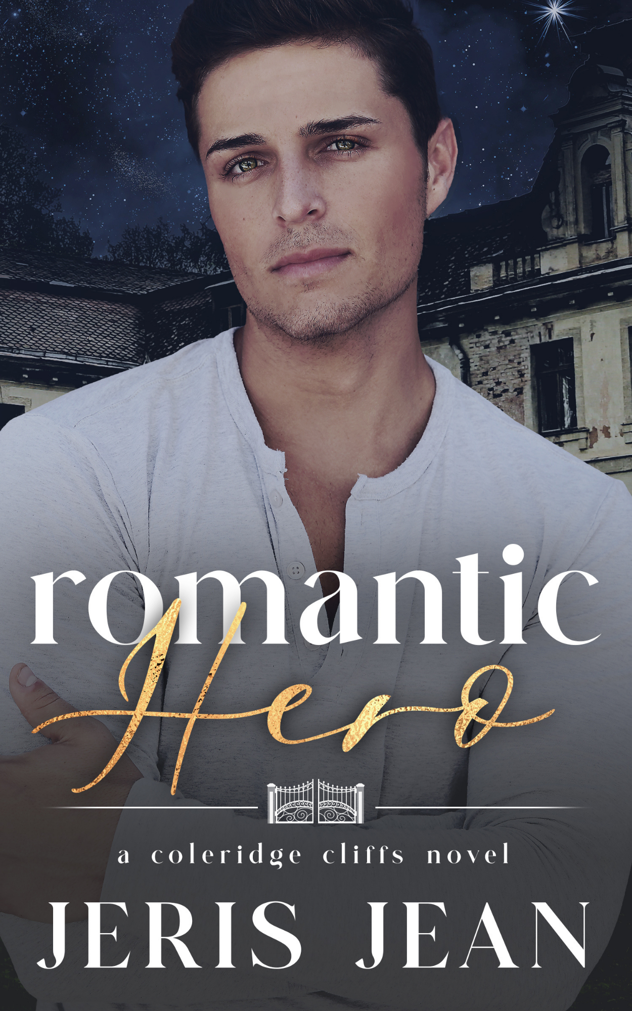 Cover of Romantic Hero by Jeris Jean